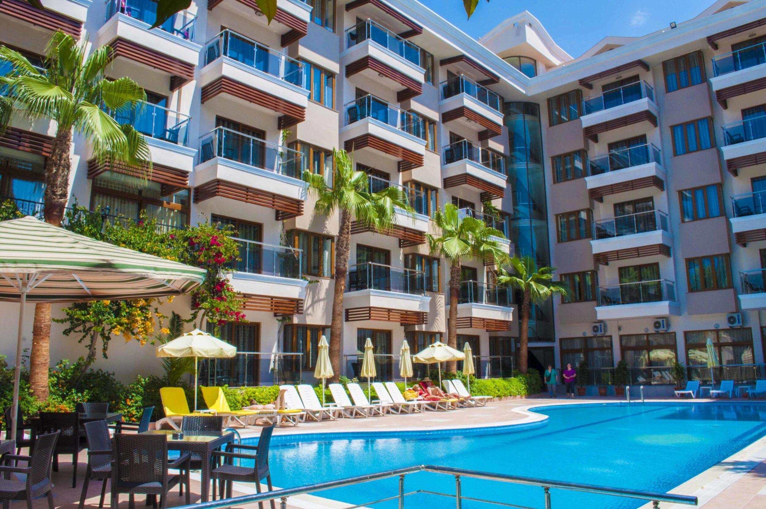 На фото отель Sun Beach Park & Spa 4*