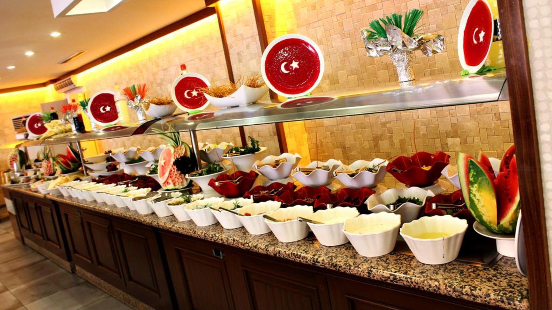 Питание в отеле Sun Beach Park & Spa 4*