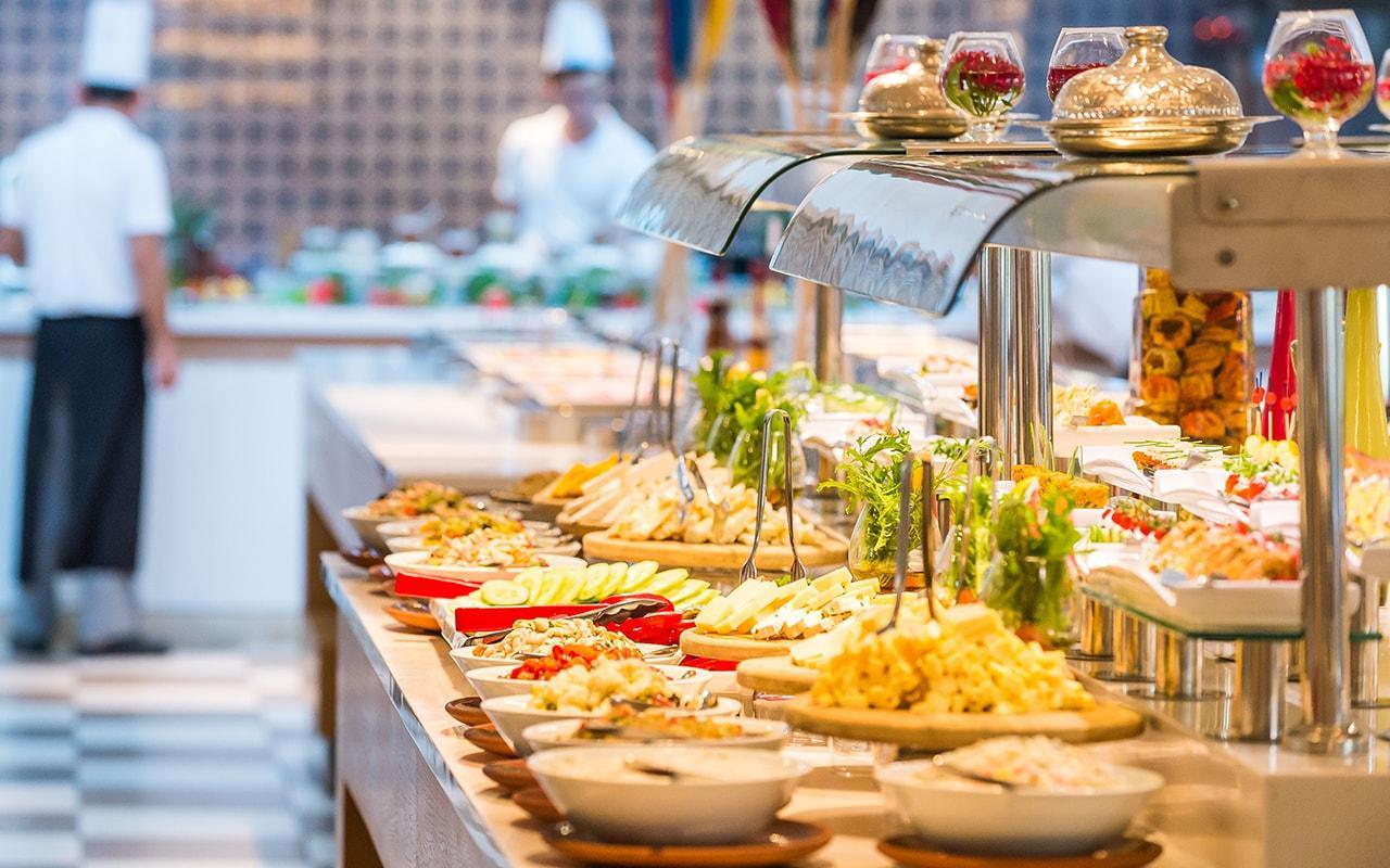 Питание в отеле Barut B Suites 4*