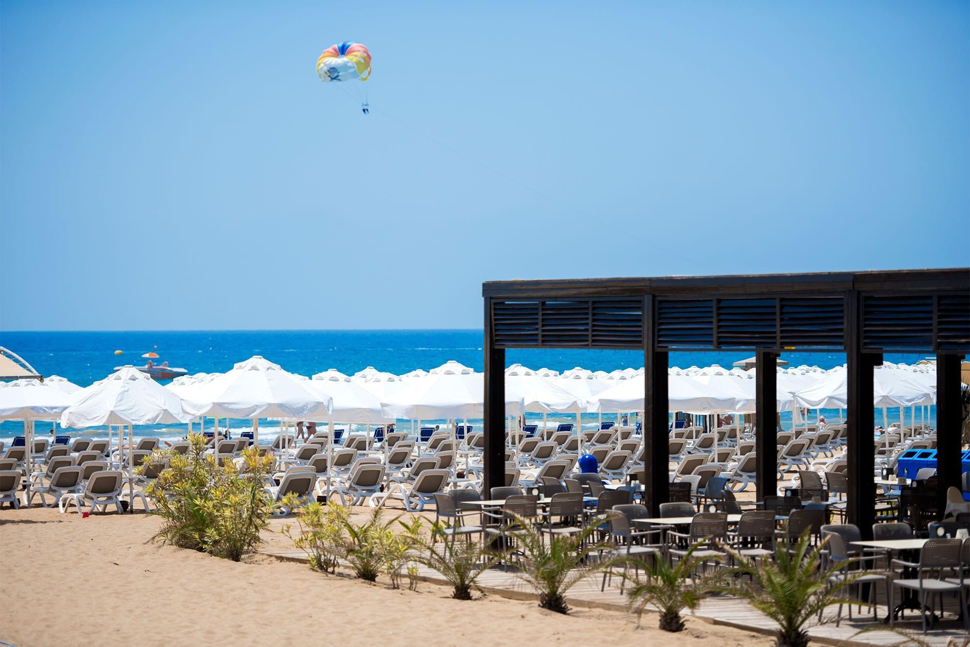 Пляж отеля Barut B Suites 4*