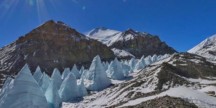 Фото горы Эверест