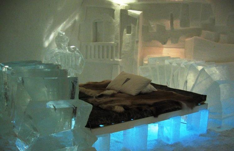 Фото ледяного отеля