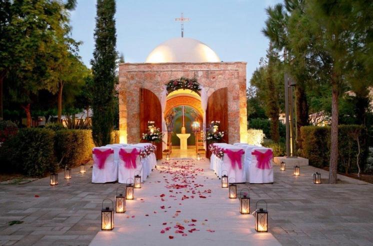 Фото свадебной церемонии в отеле