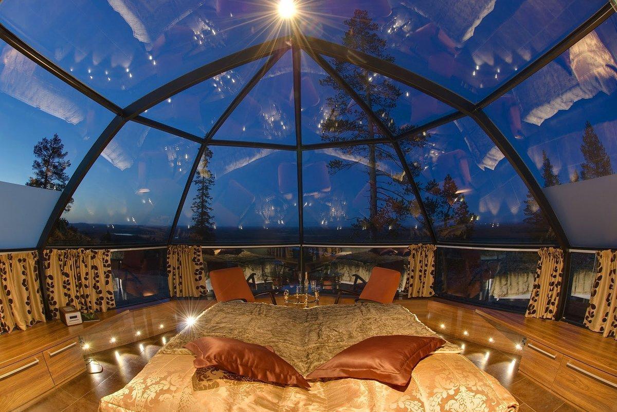 Фото необычного отеля в Подмосковье