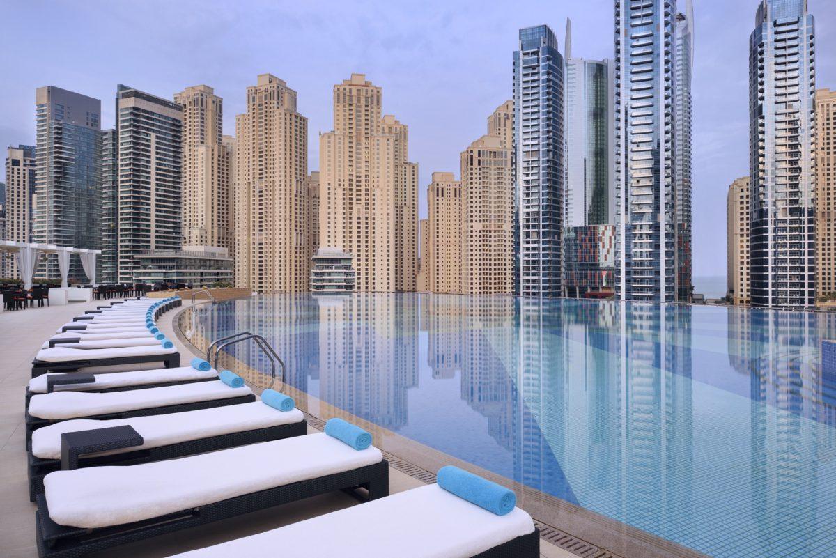 Отель The Address Dubai Marina