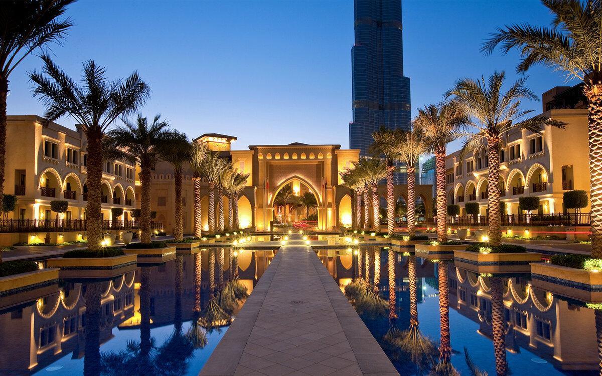 Гостиница в Дубае