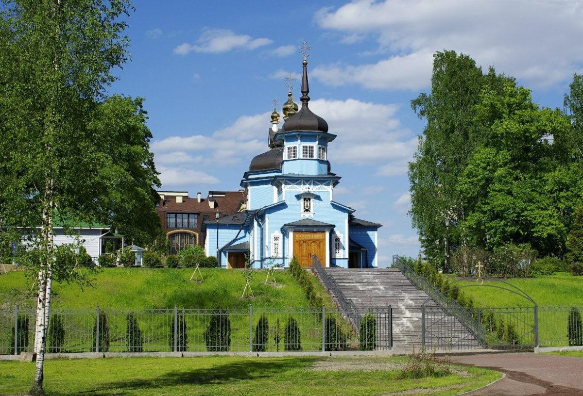 Фото храма Дмитрия Солунского