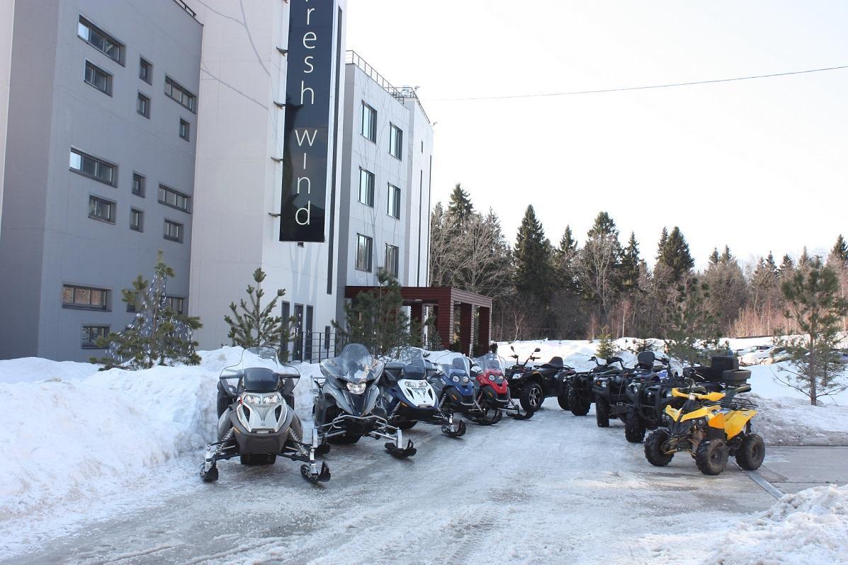 Фото снегоходов