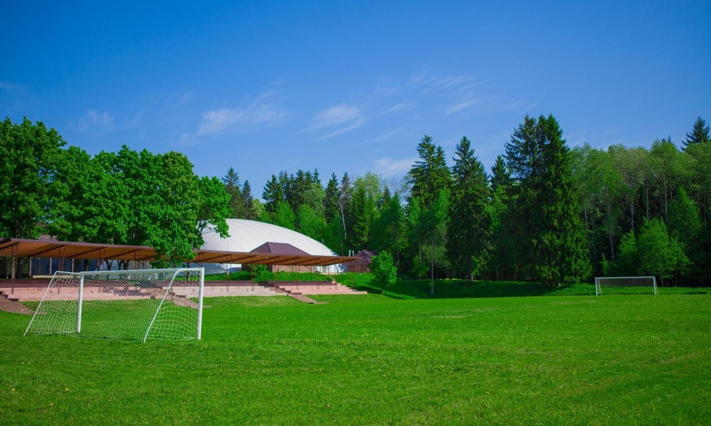 Фото территории парк-отеля Солнечный