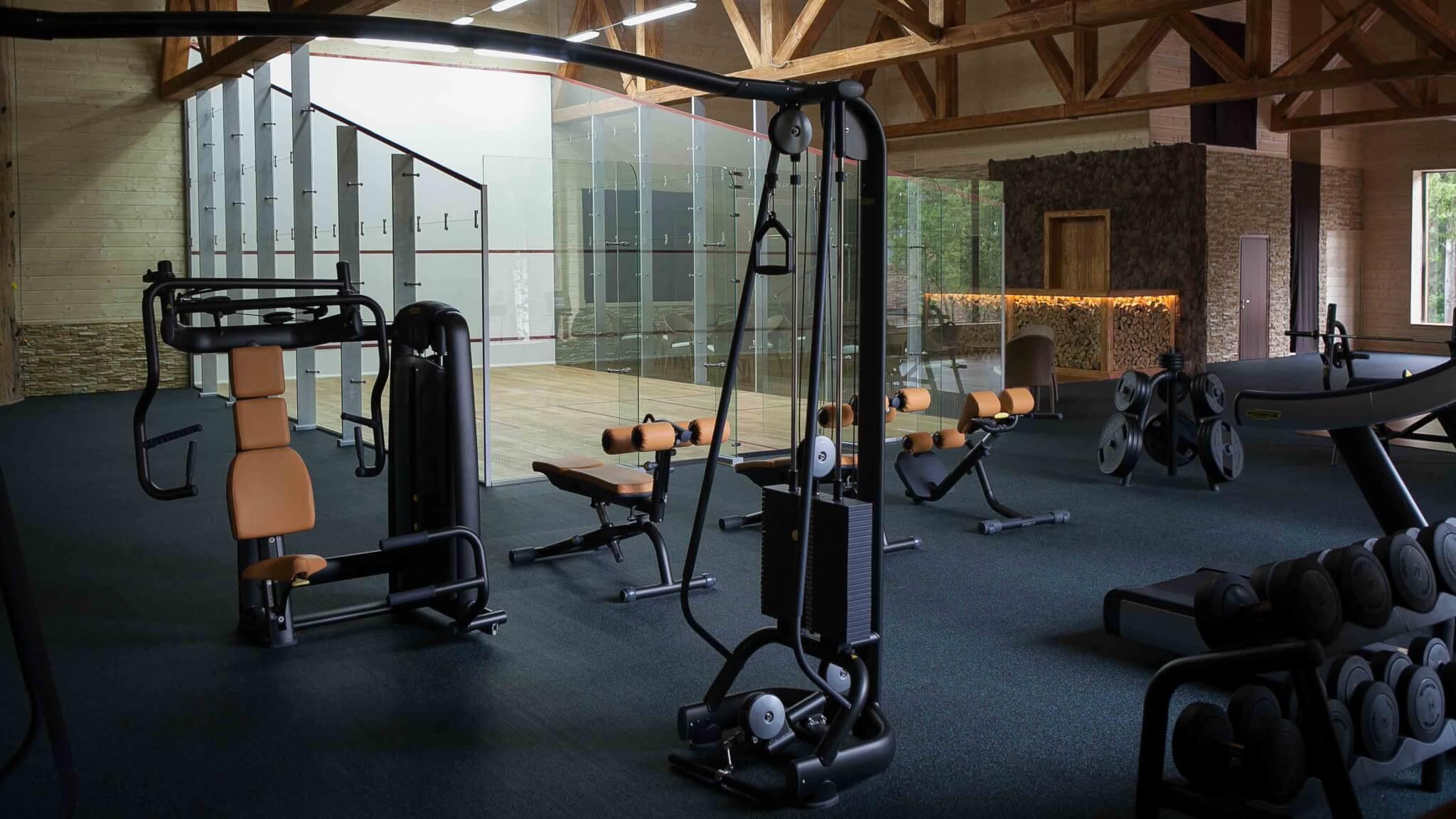 Фото спортивного зала