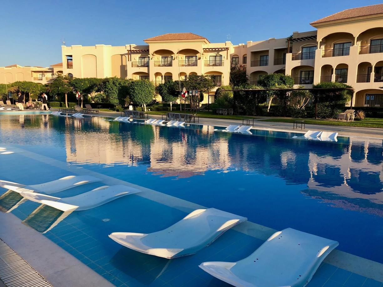Модернизированный отель Jaz Aquamarine Resort