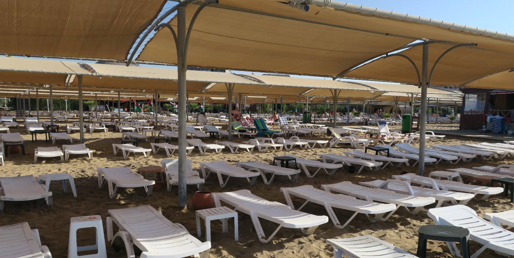 Пляж отеля PrimaSol Hane Family Resort 4*