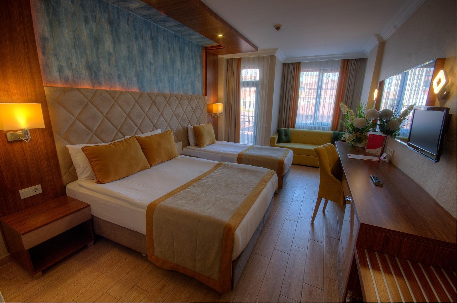 Один из номеров отеля PrimaSol Hane Family Resort 4*