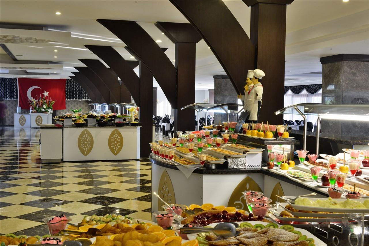 Питание в отеле PrimaSol Hane Family Resort 4*