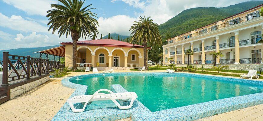 Фото отеля в Абхазии