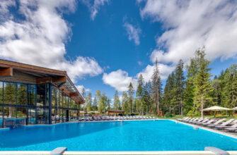 Фото отелей в Подмосковье с бассейнами